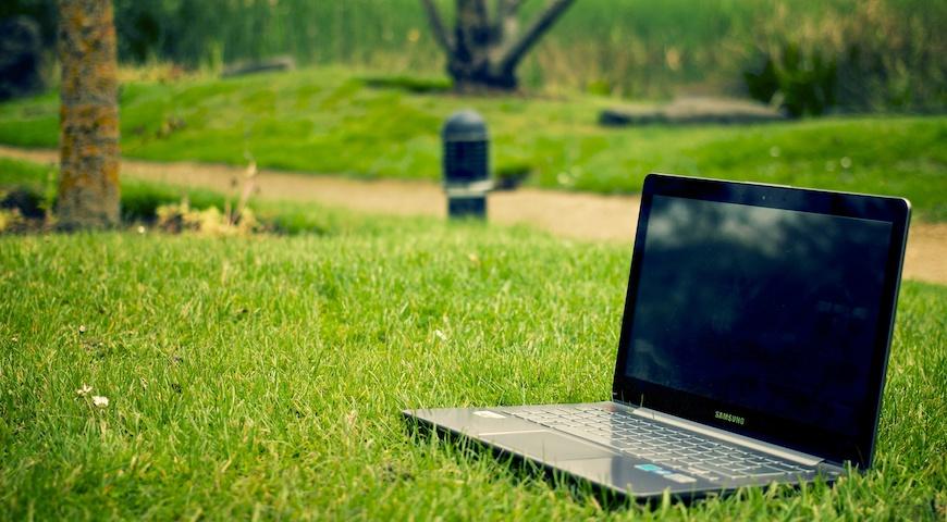 Arbeit in der Natur