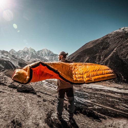 ausrüstung schlafsack