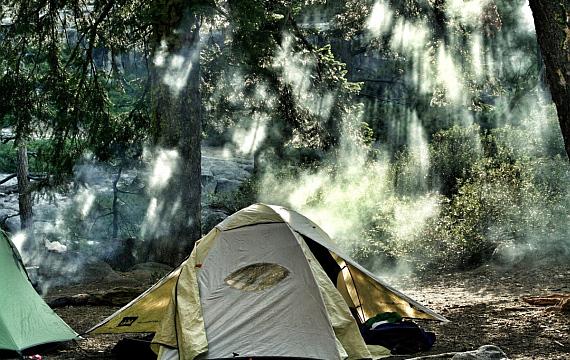 Ideen für ein outdoor Camp