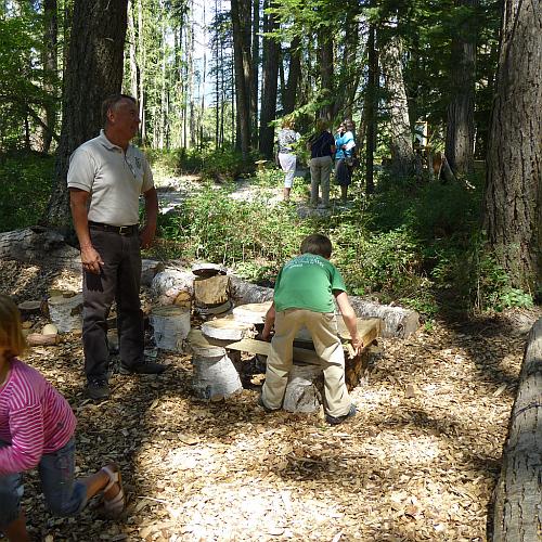 Klassenfahrt Erlebnis Outdoor Wildnis