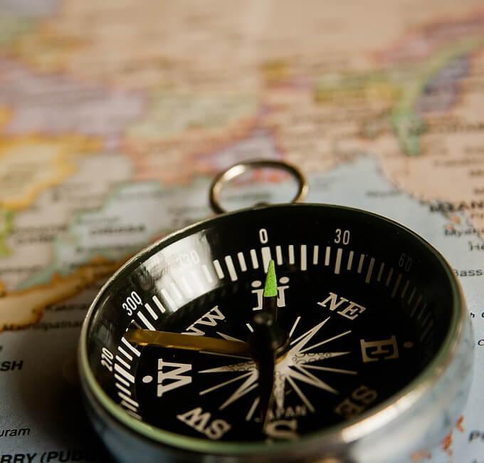 Navigation Orientierung