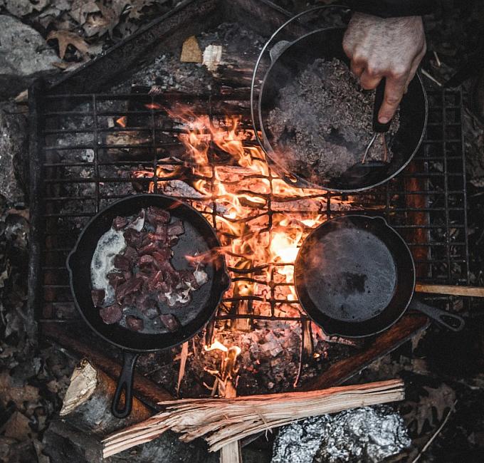 Survival Camp Nahrungsbeschaffung