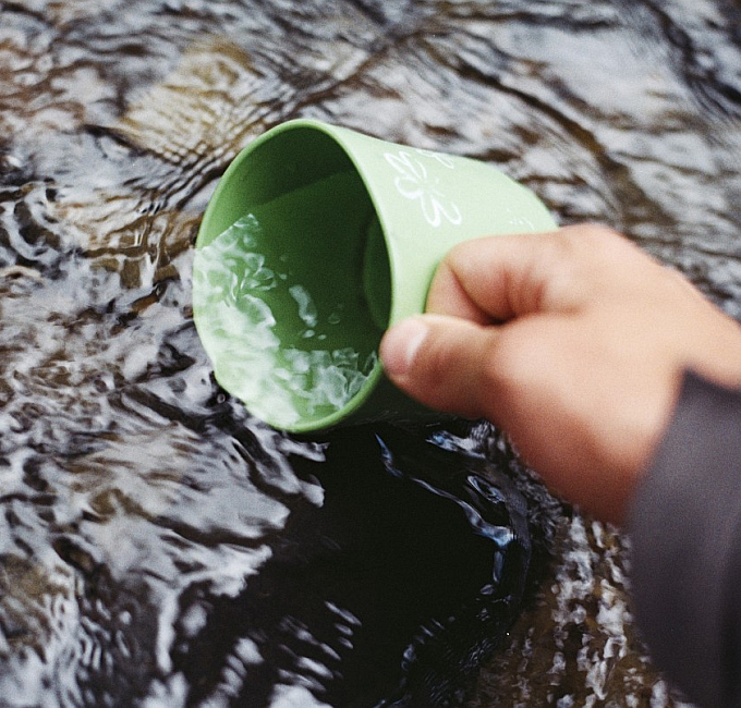 Survival Camp Wasseraufbereitung