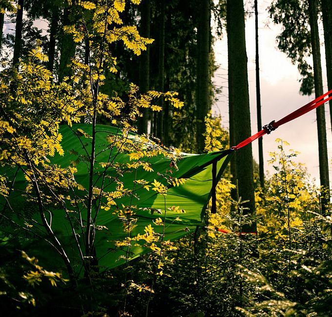 Übernachtung im Baumzelt Elebnis