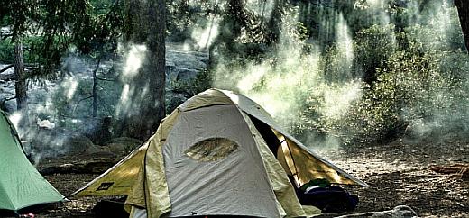 wildnis outdoor trekking camp